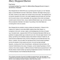 Mary Sheppard Burton - BGC Oral History Project.pdf