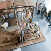 Theaster Gates, A Good Whitewashing, performance, 2010, Museum of Contemporary Craft