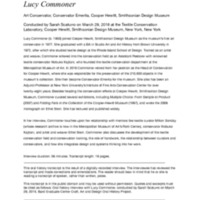 Lucy Commoner Transcript.pdf