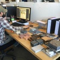Designers at work at Future Green Studio, Brooklyn, New York, 2016