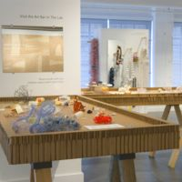 Touching Warms the Art, installation view, 2008, Museum of Contemporary Craft