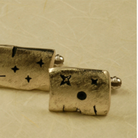 Cufflinks and ring