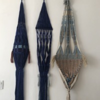 Woven work, April 2021. Photo by Jessie Mordine Young.